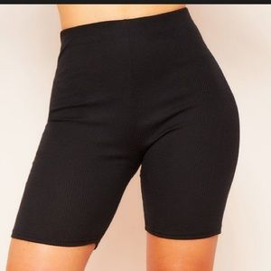 Derica Missy Empire RIbbed Cycle Shorts